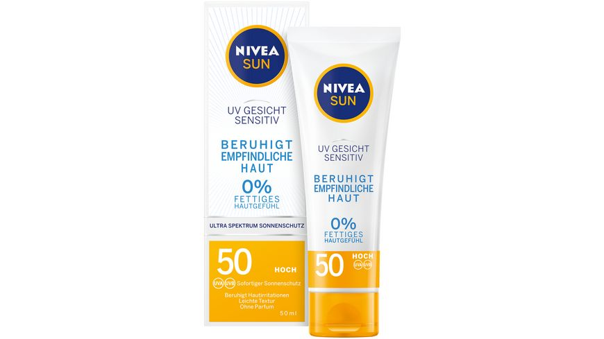 NIVEA sun Face Sensitiv LSF50