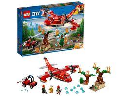 LEGO City 60217 Loeschflugzeug der Feuerwehr