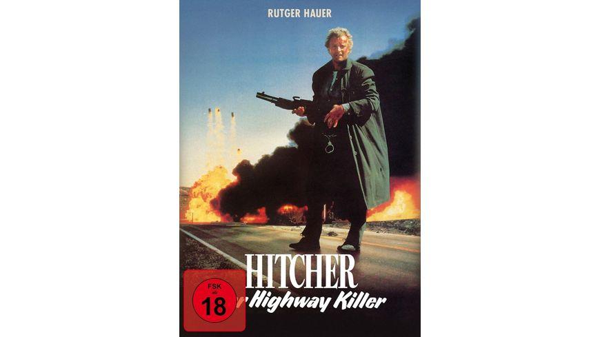 Hitcher der Highway Killer Special Edition Mediabook uncut DVD Filmjuwelen