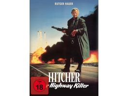 Hitcher der Highway Killer Special Edition Mediabook uncut DVD Filmjuwelen