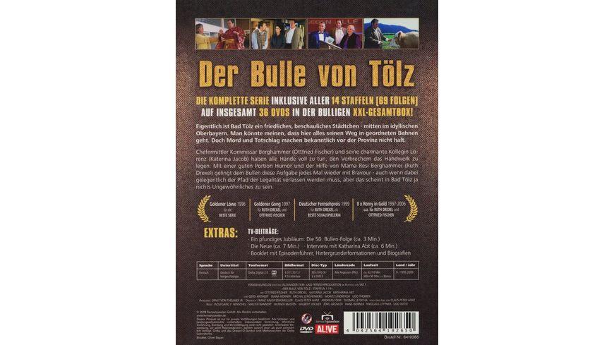 Der Bulle von Toelz Komplettbox Staffeln 1 14 Alle 69 Folgen 36 DVDs Fernsehjuwelen