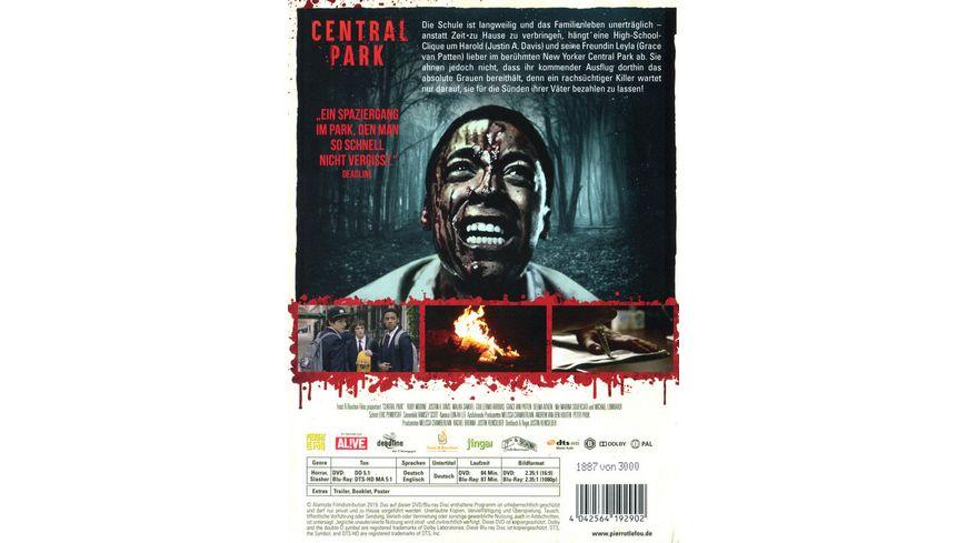 Central Park Massaker in New York Limited Edition Mediabook DVD