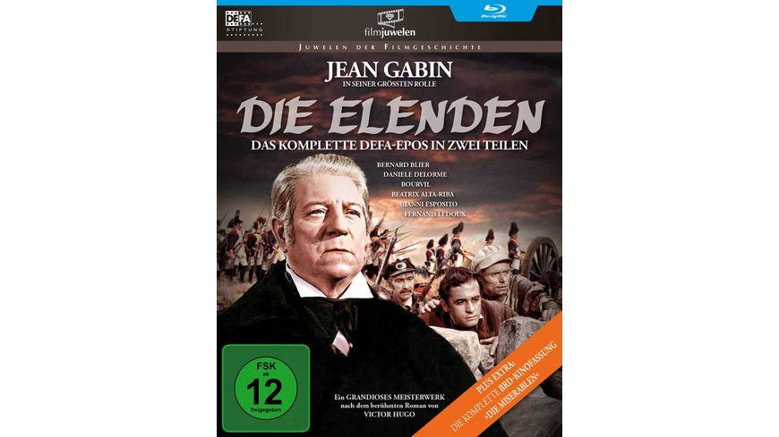 Die Elenden Die Miserablen Der legendaere Kino Zweiteiler DEFA Filmjuwelen