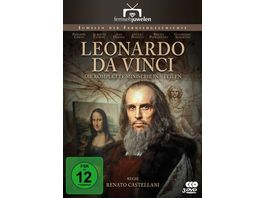 Leonardo da Vinci Der komplette 5 Teiler Fernsehjuwelen 3 DVDs