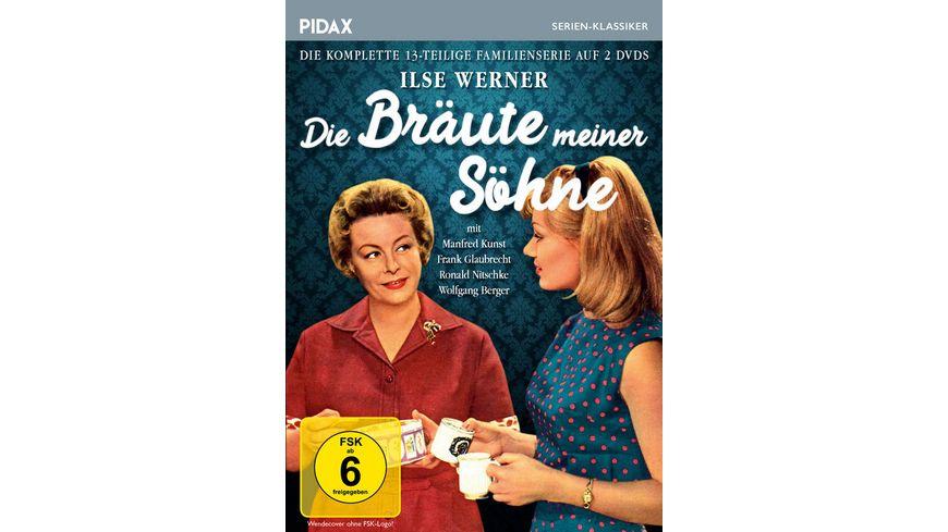 Die Braeute meiner Soehne Die komplette 13 teilige Familienserie Pidax Serien Klassiker 2 DVDs