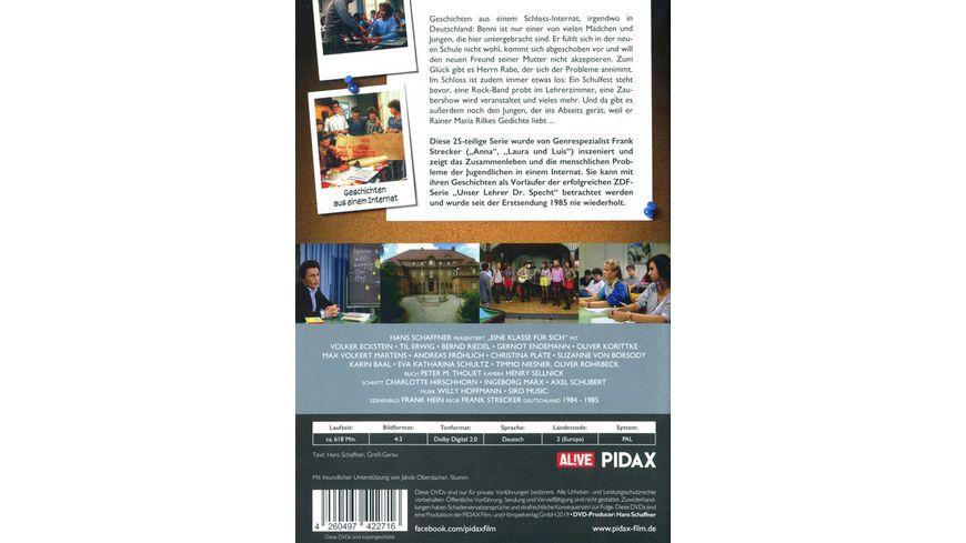 Eine Klasse fuer sich Geschichten aus einem Internat Die komplette 25 teilige Serie Pidax Serien Klassiker 4 DVDs