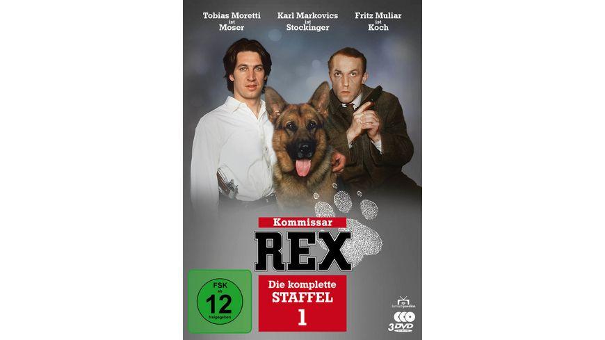 Kommissar Rex - Die komplette 1. Staffel (3 DVDs) (Fernsehjuwelen)