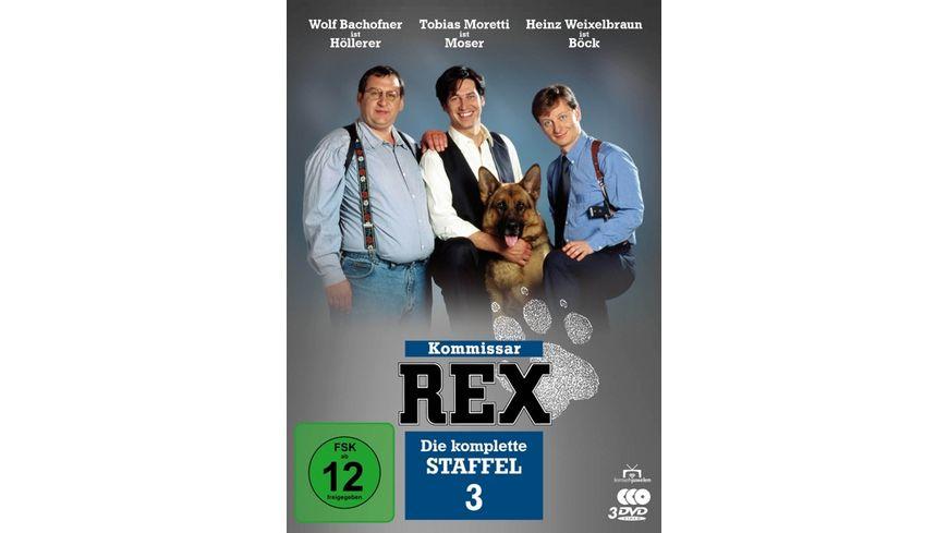 Kommissar Rex Die komplette 3 Staffel 3 DVDs