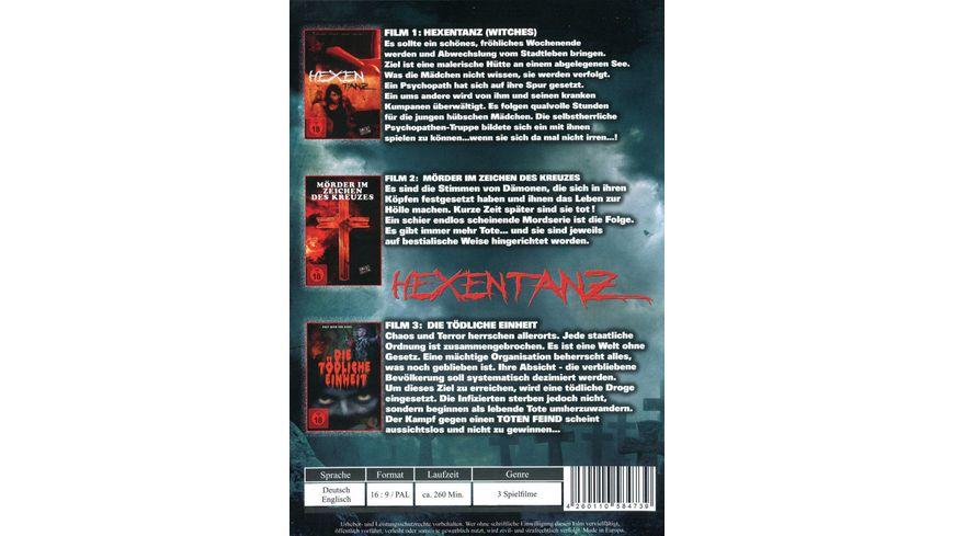 Hexentanz Uncut 3 DVDs
