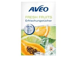 AVEO FRESH FRUIT Erfrischungstuecher