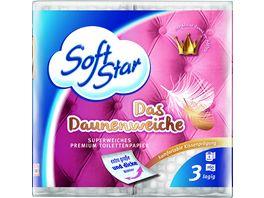 Softstar Toilettenpapier Das Daunenweiche 3 lagig