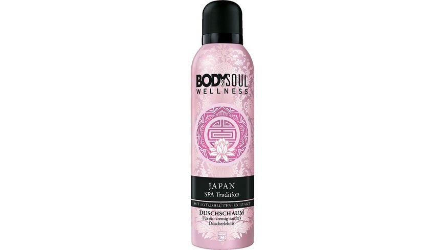 BODY SOUL JAPAN SPA Tradition Duschschaum 200ml mit Lotusblueten Extrakt