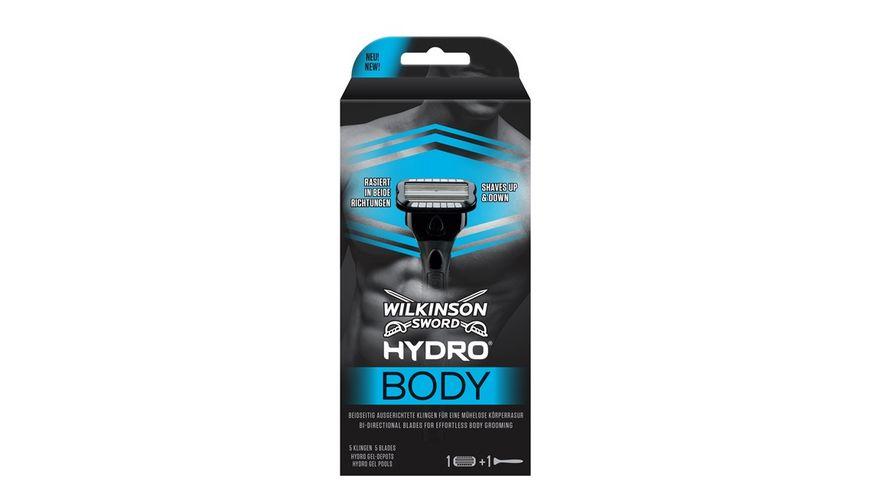 WILKINSON Sword Hydro Body Herren Rasierer mit 1 Rasierklinge