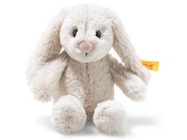 Steiff Soft Cuddly Friends Hoppie Hase mit Sticker App 16 cm