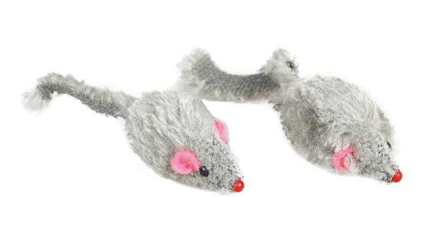 Karlie Kurzhaar Maus grau 5cm