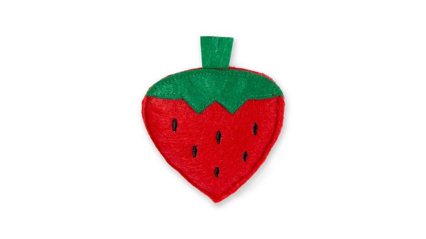 Karlie Erdbeere rot 9 5cm