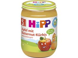 HiPP Bio Apfel mit Butternut Kuerbis
