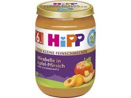 HiPP Bio Fuer kleine Feinschmecker Mirabelle in Apfel Pfirsich