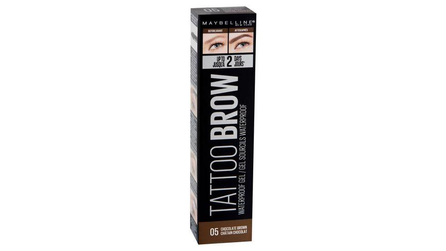 MAYBELLINE NEW YORK Tattoo Brow Waterproof Gel