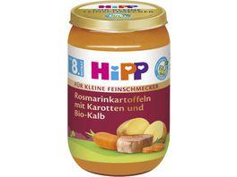 HiPP BIO Rosmarinkartoffeln mit Karotten und Bio Kalb