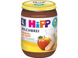 HiPP BIO Milchbrei Babykeks und Apfel