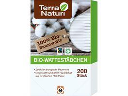 Terra Naturi Bio Wattestaebchen