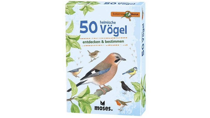 moses Expedition Natur 50 heimische Voegel