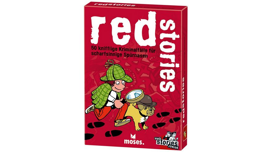 moses red stories black stories Junior