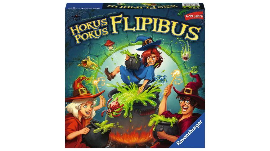 Ravensburger Spiel - Hokus Pokus Flipibus von Ravensburger