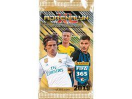 Panini FIFA 365 Saison 2018 2019 Adrenalyn XL Trading Cards Booster