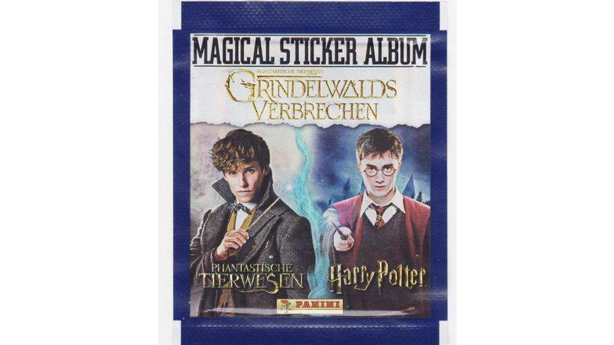 Panini Harry Potter Phantastische Tierwesen 2 Sammelsticker Booster