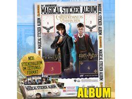 Panini Harry Potter Phantastische Tierwesen 2 Sammelsticker Album