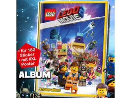 Blue Ocean Lego Movie Serie 2 Sammelalbum