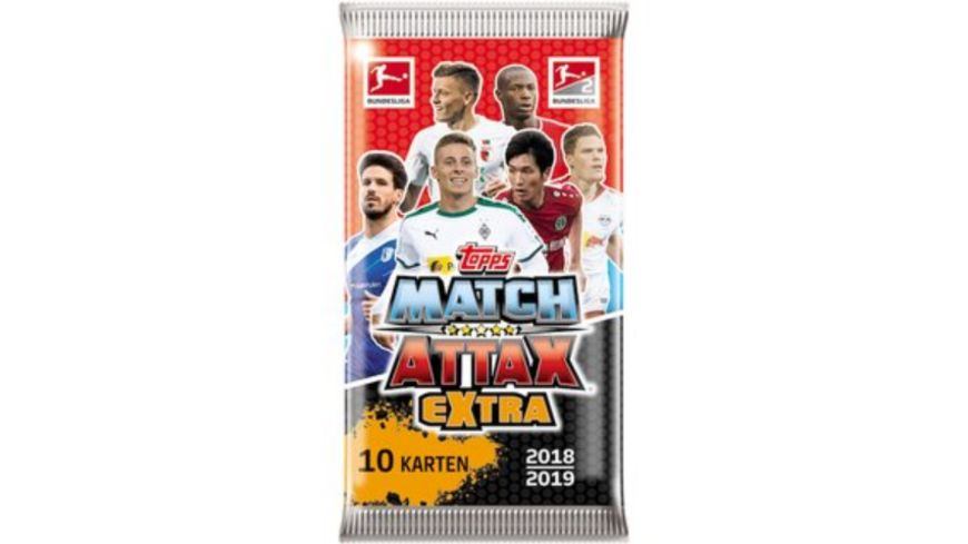 Topps Match Attax 2018 2019 Booster