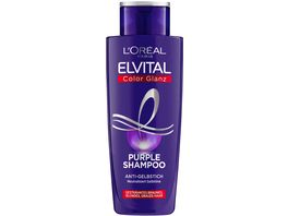 L OREAL PARIS ELVITAL Shampoo Color Glanz Purple
