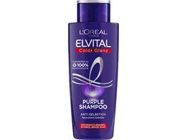 L OREAL PARIS ELVITAL Shampoo Color Glanz Purple