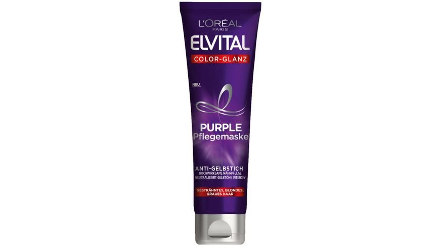 L OREAL PARIS ELVITAL Haarkur Color Glanz Purple