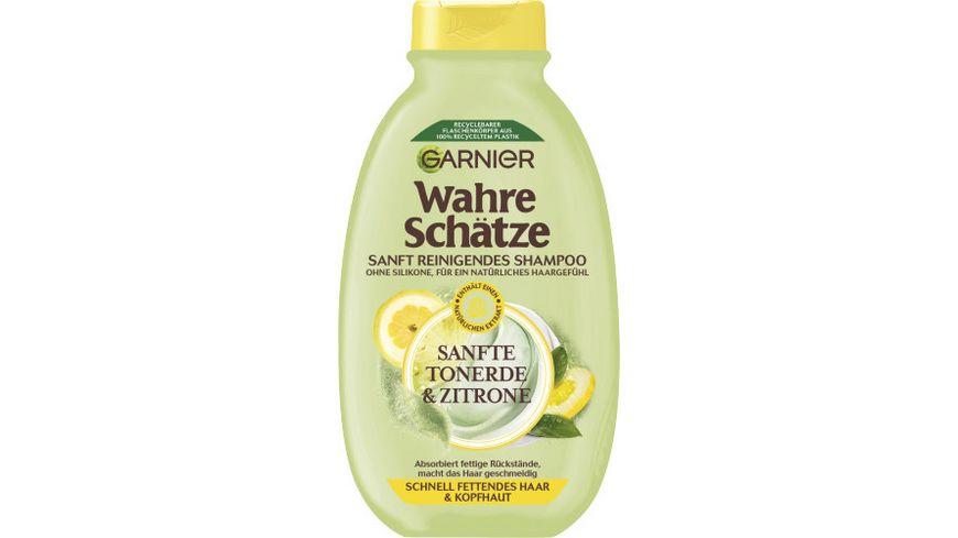GARNIER Wahre Schaetze Erfrischendes Shampoo Tonerde Zitrone