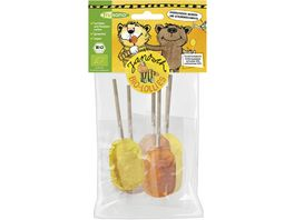 frusano Janosch Orange Zitrone Lollies