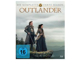 Outlander Die komplette vierte Season 5 Blu rays