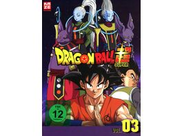 Dragonball Super 3 Arc Universum 6 Episoden 28 46 3 DVDs