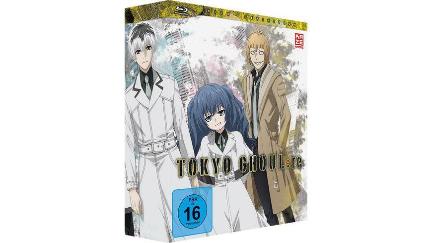 Tokyo Ghoul re 3 Staffel Blu ray 1 mit Sammelschuber Limited Edition