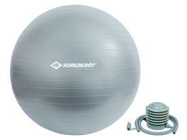Schildkroet Fitness Gymnastikball 65 cm phthalatfrei mit Ballpumpe Gruen