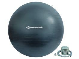 Schildkroet Fitness Gymnastikball 85 cm phthalatfrei mit Ballpumpe Gruen