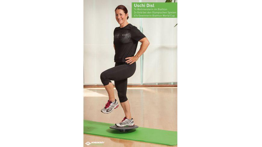 Schildkroet Fitness Schildkroet Fitness Balance Board ink Anti Rutsch Pad