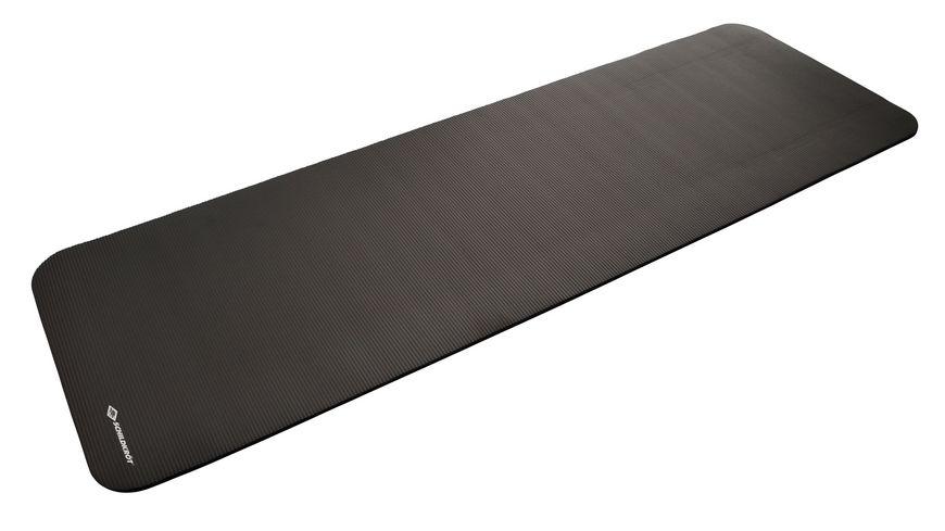 Schildkröt-Fitness - Fitnessmatte 10 mm, Grau, mit Tragegurt