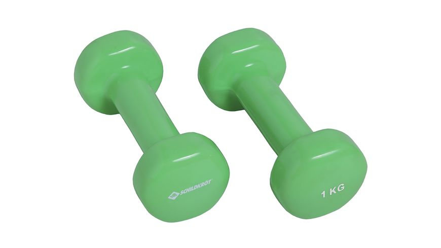 Schildkroet Fitness Venyl Hantel Set 2 x 1 0 kg