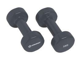 Schildkroet Fitness Vinyl Hantel Set 2 x 3 0 kg