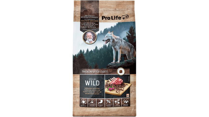 Pro Life Moessner Spezialhundenahrung Wild 1kg