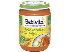 Bebivita Fruehkarotten mit Kartoffeln ab dem 4 Monat